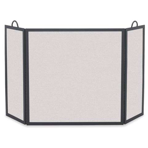 "3 Fold Fireplace Screen - 54"" Wide x 30"" Tall"