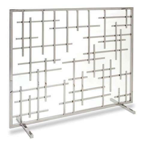 Pilgrim Contemporary Summer Screen - Polished Nickel