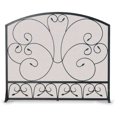 Napa Country Scroll Arch Flat Panel Screen - Black