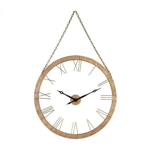 Cape Verde Wall Clock in Restoration Black