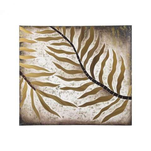 Quintus Gold Foliage Sculpture in Gold