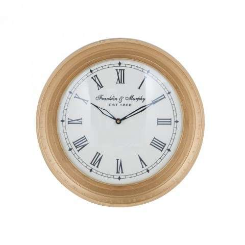 Carfax Crossing Wall Clock in Gold
