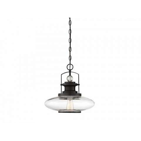 Mayfield 1 Light Pendant In English Bronze