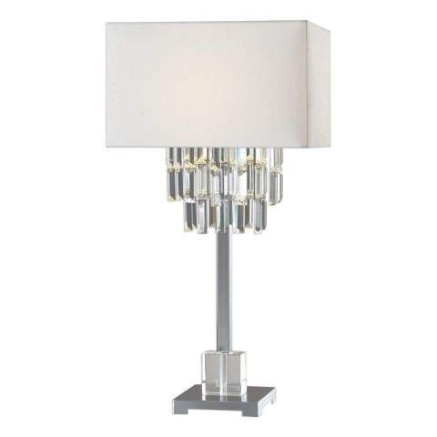 Resana Polished Nickel Lamp
