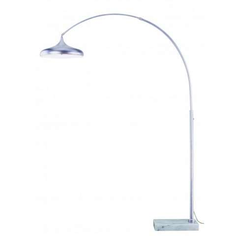 Bacio Instalux LED Arc Lamp Satin Nickel