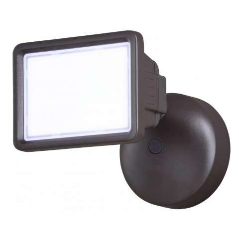 Sigma LED 1-Light Security Light Bronze