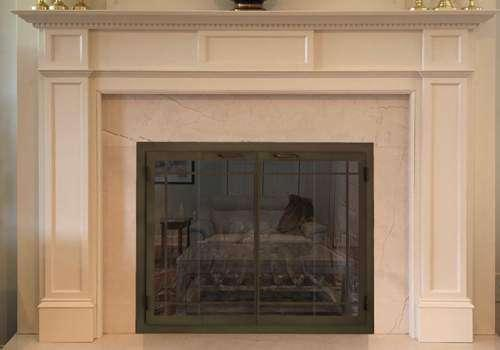 Fireplace Door Example 1