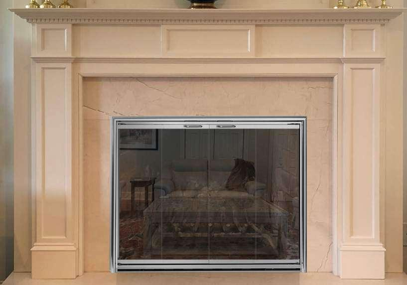 Fireplace Door Example 4
